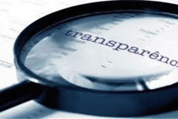 Nova Lei da Transparência